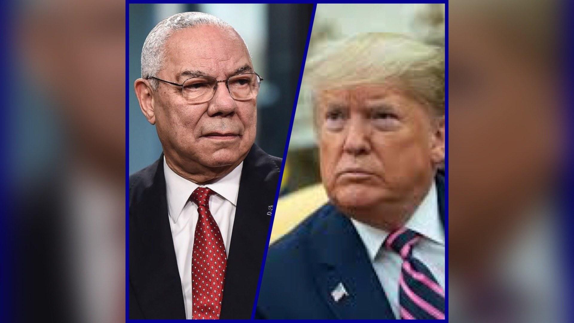 """Colin Powell votera pour Joe Biden et traite Trump de """"menteur"""""""
