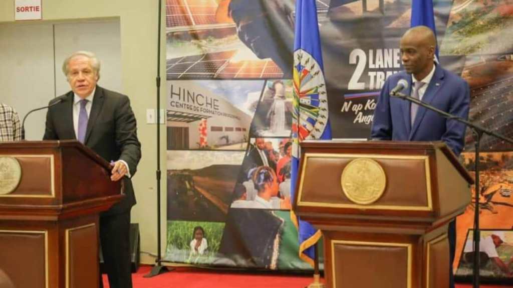 L'OEA fixe la date du 1er tour des élections législatives, le gouvernement dénonce ceux qui veulent une transition