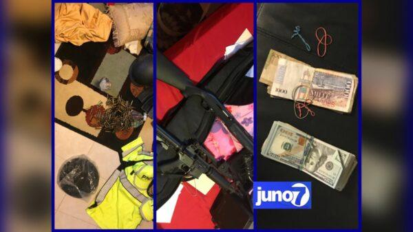 Grosse saisie d'armes, de munitions et d'équipements à Pèlerin 4 et 5