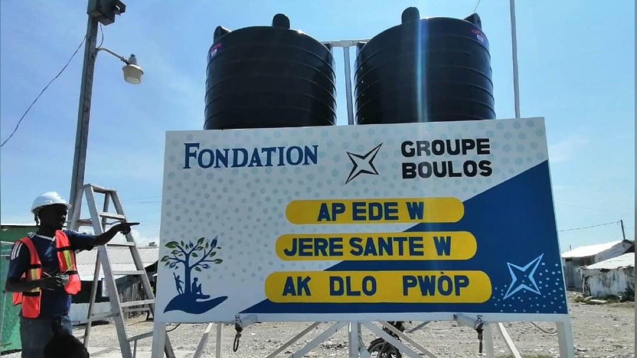 """Covid-19:""""Dlo toupatou, dlo tout tan"""", un projet pour rendre accessible l'eau"""
