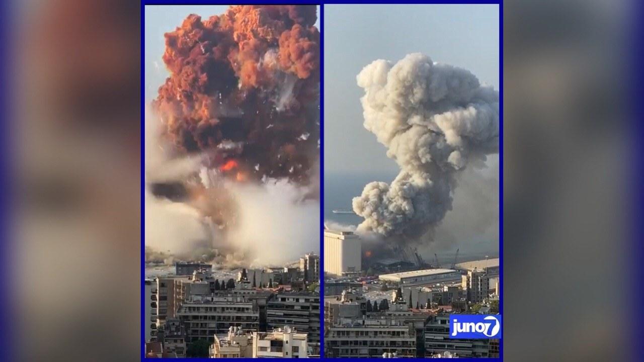 Deux explosions secouent la capitale du Liban