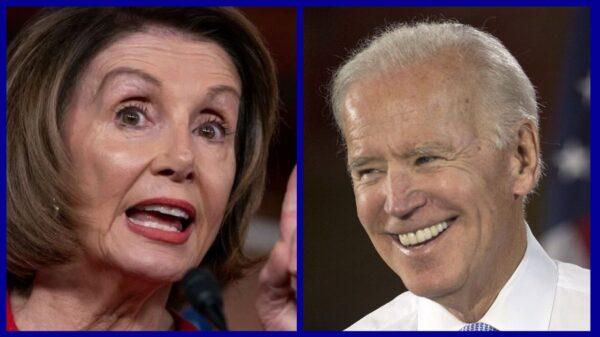 Nancy Pelosi a endossé la candidature de Joe Biden