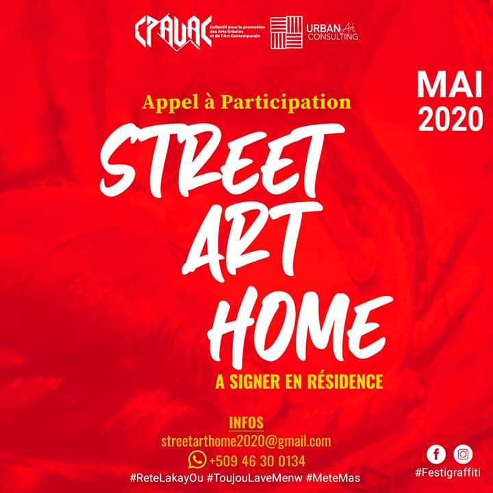 """""""Street art home"""", Quand l'art resiste à la Pandémie du Covid-19"""