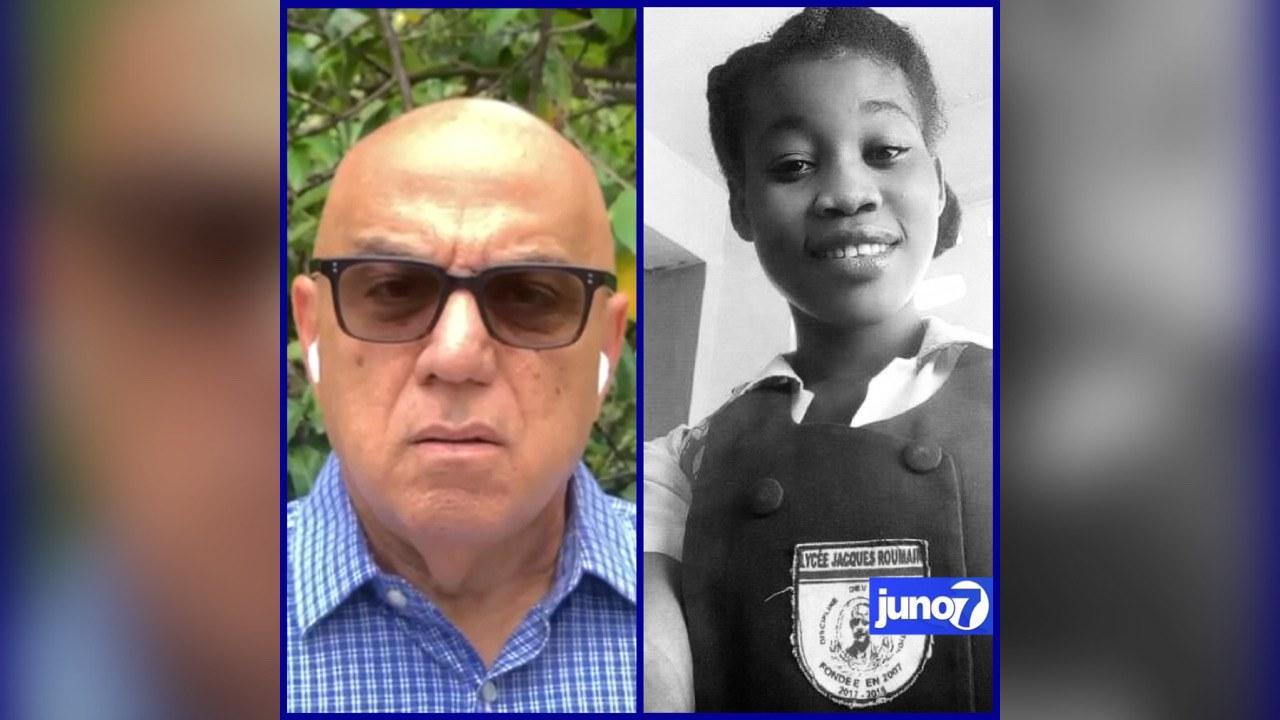 Réginald Boulos se dit choqué et indigné par l'assassinat de la jeune Evelyne Sincère