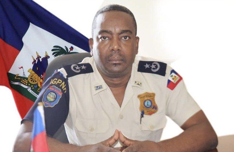 L'inspecteur général en chef de la PNH, Hervé Julien