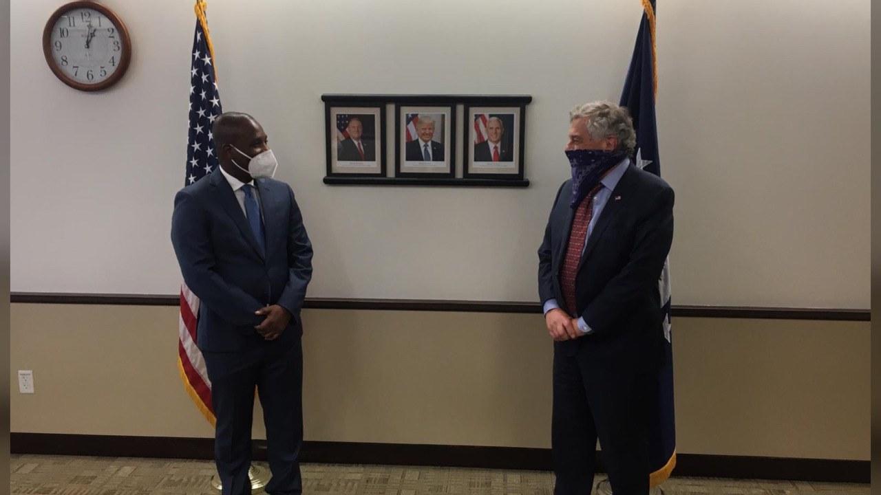 Claude Joseph en visite à Washington pour consolider le support des États-Unis