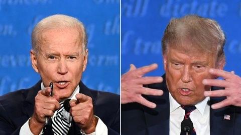 Pour au moins 60% des américains, Joe Biden a remporté le premier débat