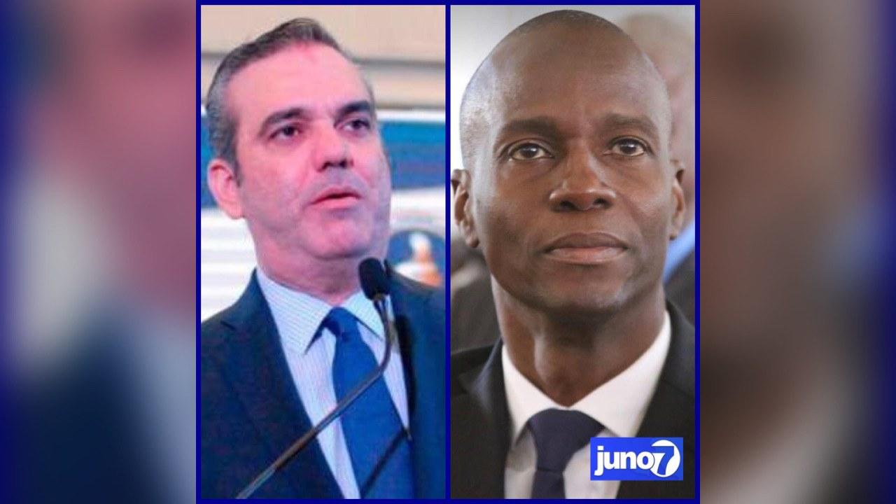 Le PM Jouthe et le président Abinader présentent leurs condoléances à Jovenel Moïse.