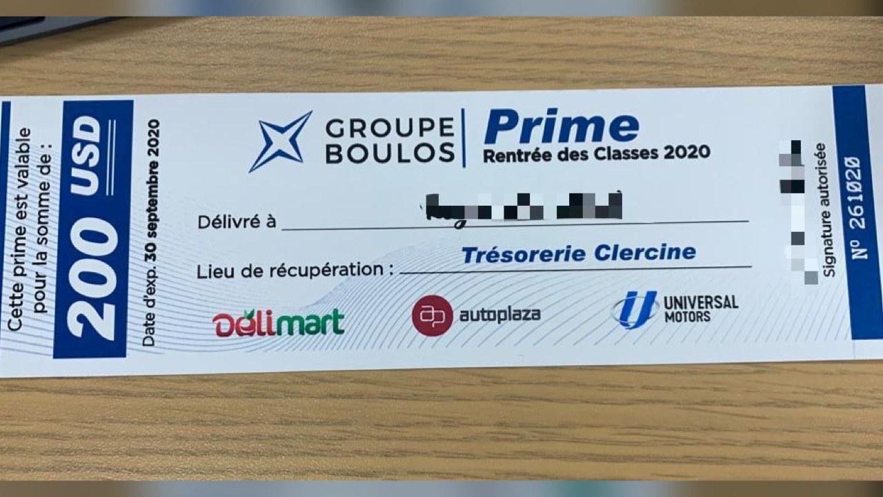 Une augmentation de salaire pour les employés du Groupe Boulos dès le 1er Octobre.
