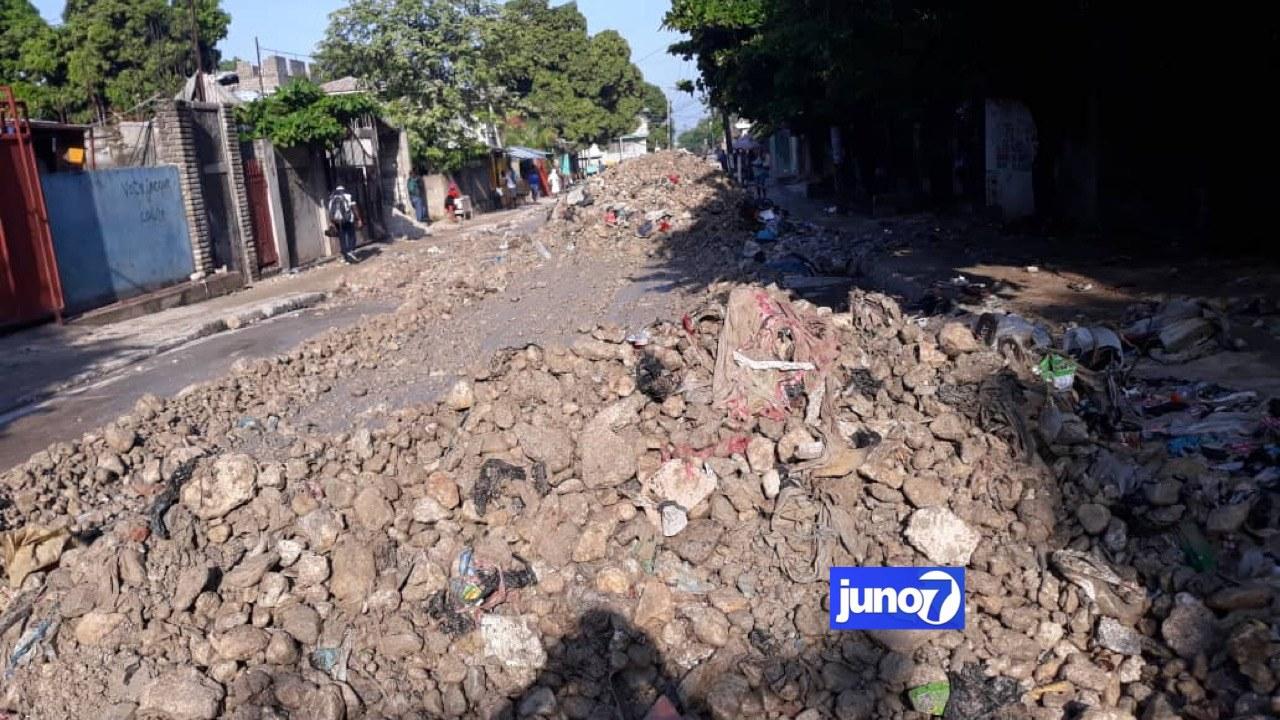 Inondations au niveau du Centre-Ville de Port-au-Prince