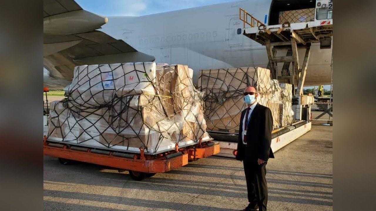 Covid-19: l'UE octroie 70 tonnes de matériels et équipements à Haïti