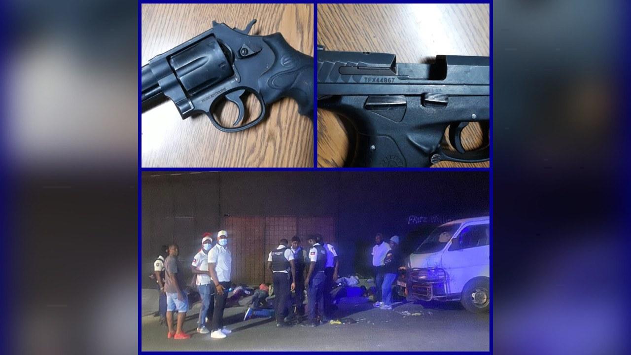 Trois présumés bandits arrêtés à Pétion-Ville, une arme de la PNH récupérée