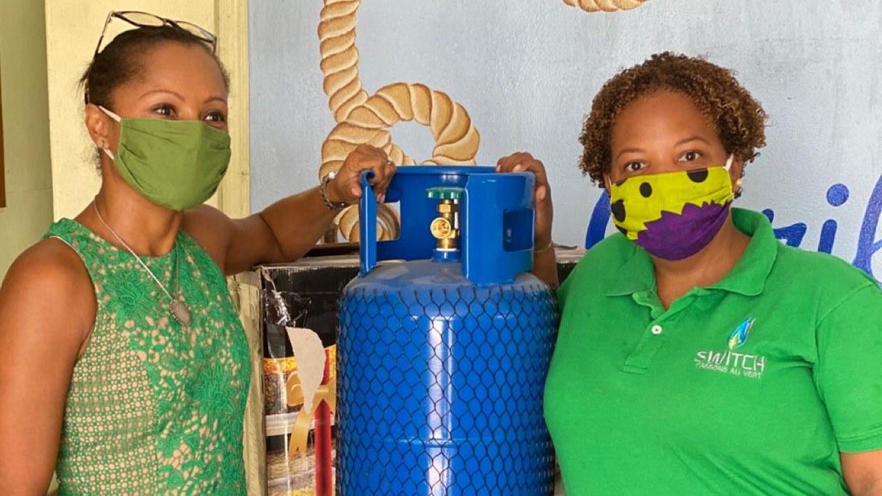 """""""Vert je m'engage"""", pour une transition au propane en Haïti"""