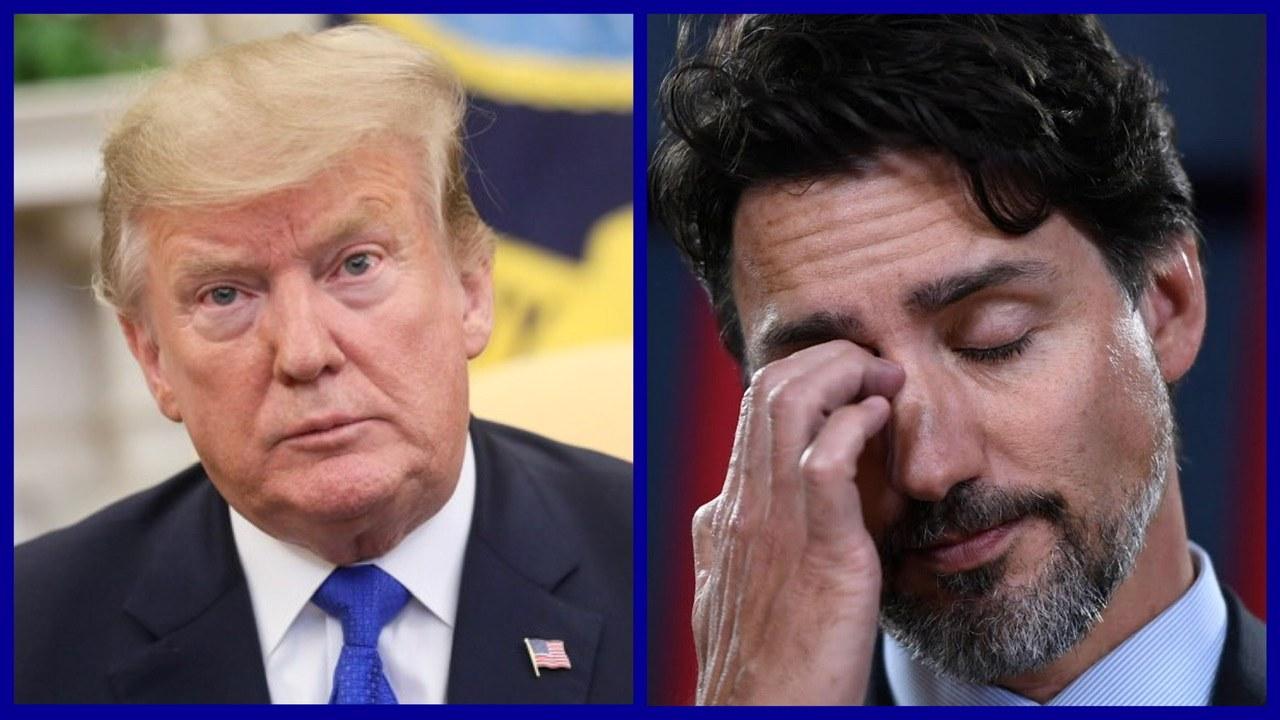 Coronavirus, Donald Trump, Justin Trudeau