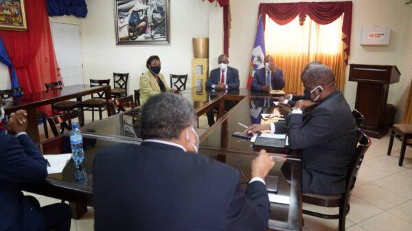 Rencontre entre le PM Jouthe et le tiers du Sénat