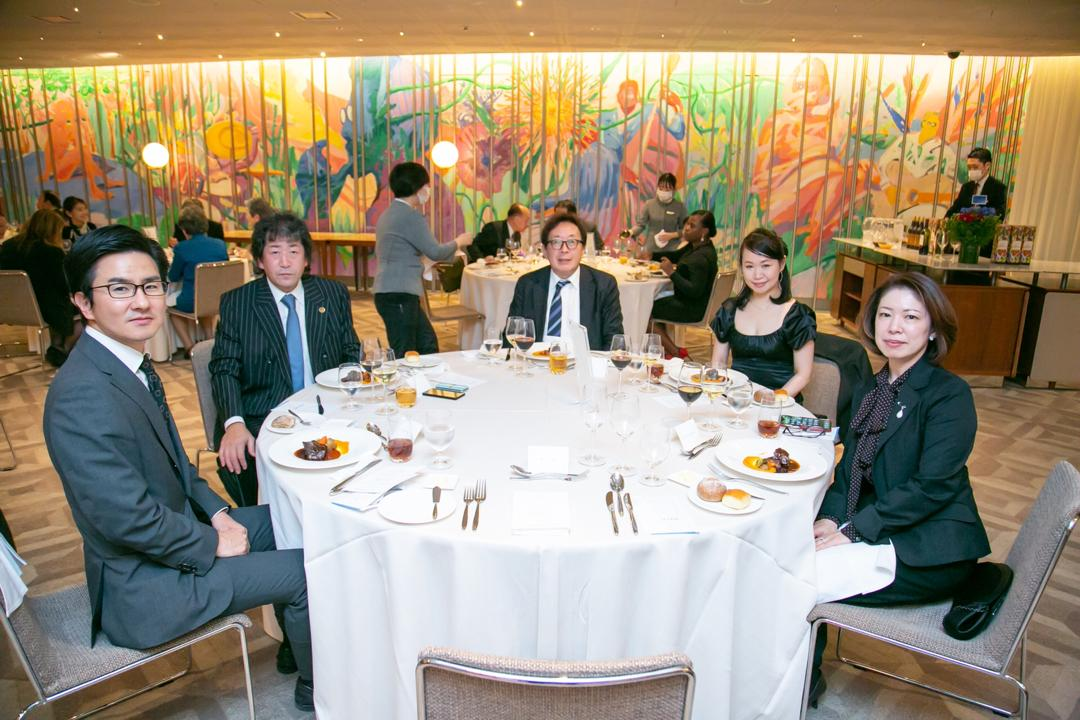 Importante rencontre entre le Groupe latino-américain Caribéen et l'ambassadeur d'Haïti au Japon