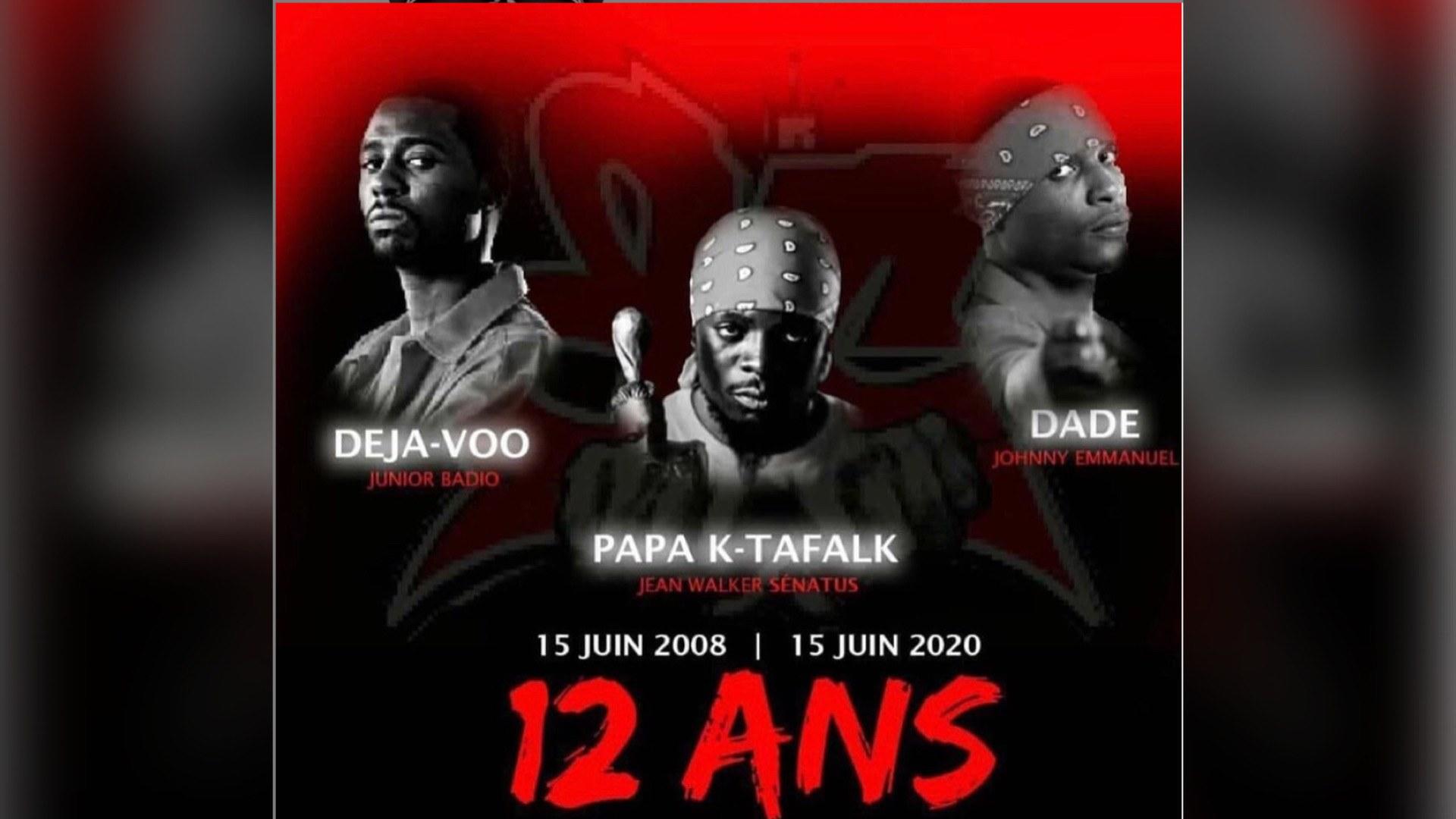 15 juin 2020, 12 ans depuis la mort tragique des quatre musiciens de Barikad Crew