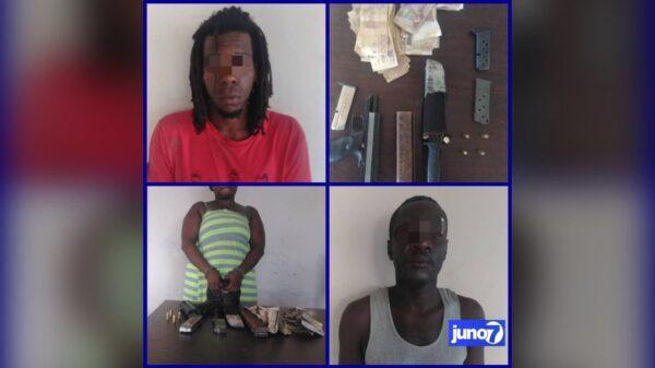 Trois individus arrêtés dans le Nord pour détention illégale d'arme
