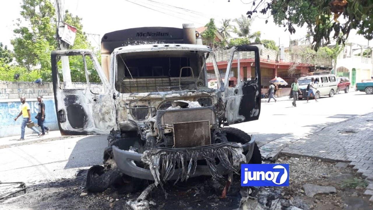 Tension à Port-au-Prince, vague d'incendies et menaces contre autrui: le MJSP, le MCC et l'ONI condamnent