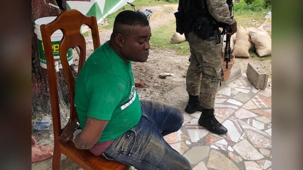 Jean Délens Loubeau, un présumé narcotrafiquant appréhendé à l'île à Vache