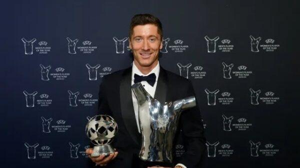 Lewandowski et Harder, élus meilleurs joueurs par l'UEFA