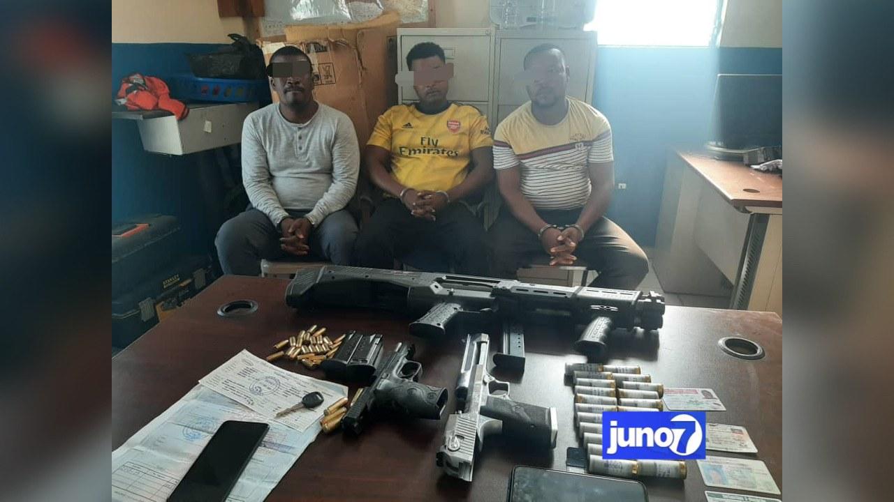 Possession illégale d'armes: trois individus interpelés aux Gonaïves