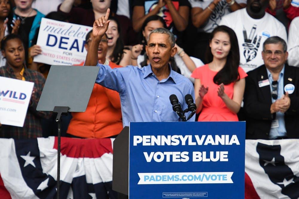 Barack Obama entre en campagne pour Joe Biden et critique une nouvelle fois Donald Trump