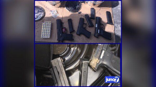 Importante saisie d'armes et de munitions à Saint-Marc et au Terminal de Drouillard