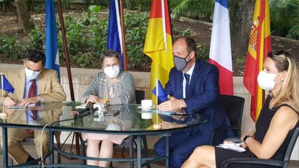 La délégation de l'UnionEuropéenne prêche un accord politique pour sortir de la crise