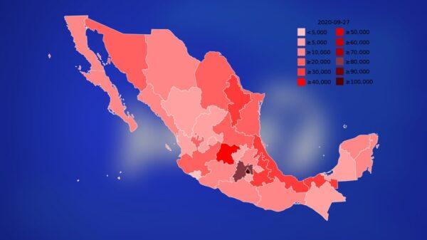 Covid-19: le Mexique dépasse la barre des 100 000 décès et devient le 4eme pays à atteindre ce chiffre