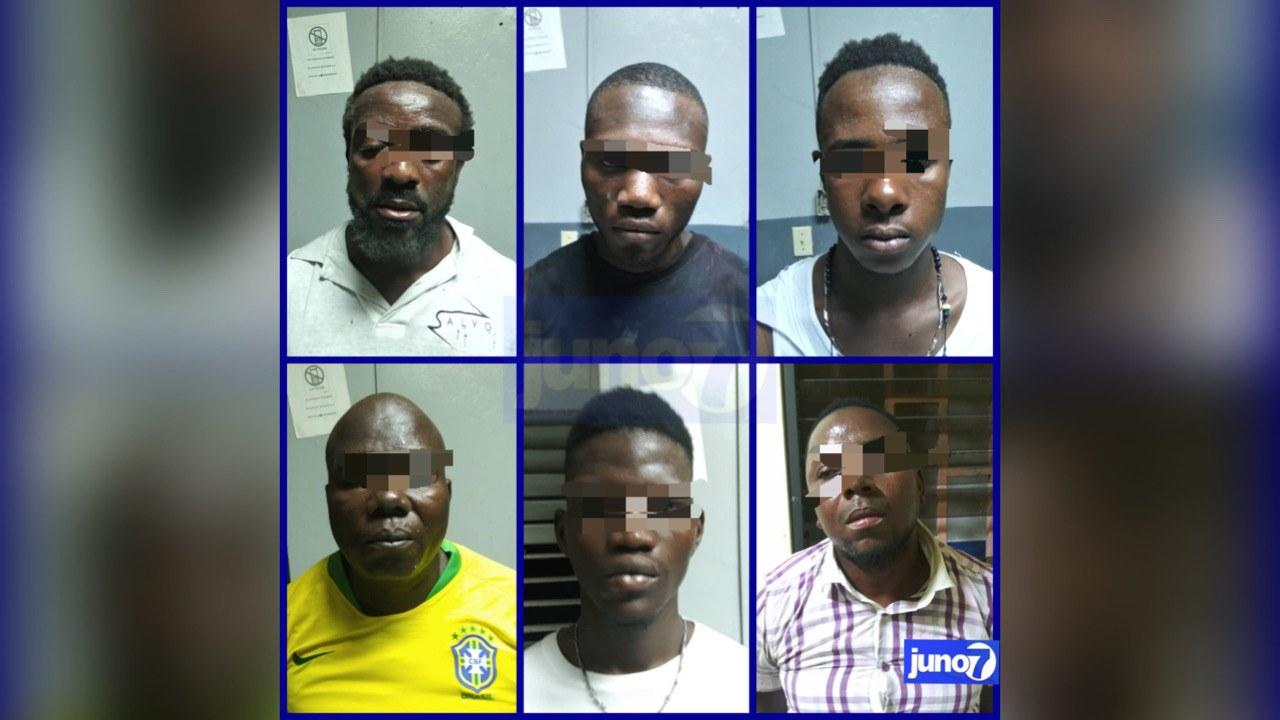 Un puissant chef de gang et 5 autres présumés bandits arrêtés par la PNH