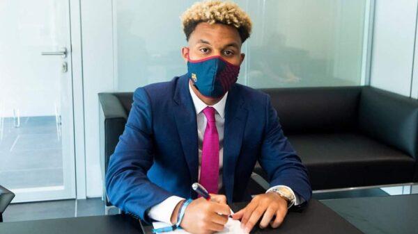 Un joueur d'origine haïtienne au sein du FC Barcelone