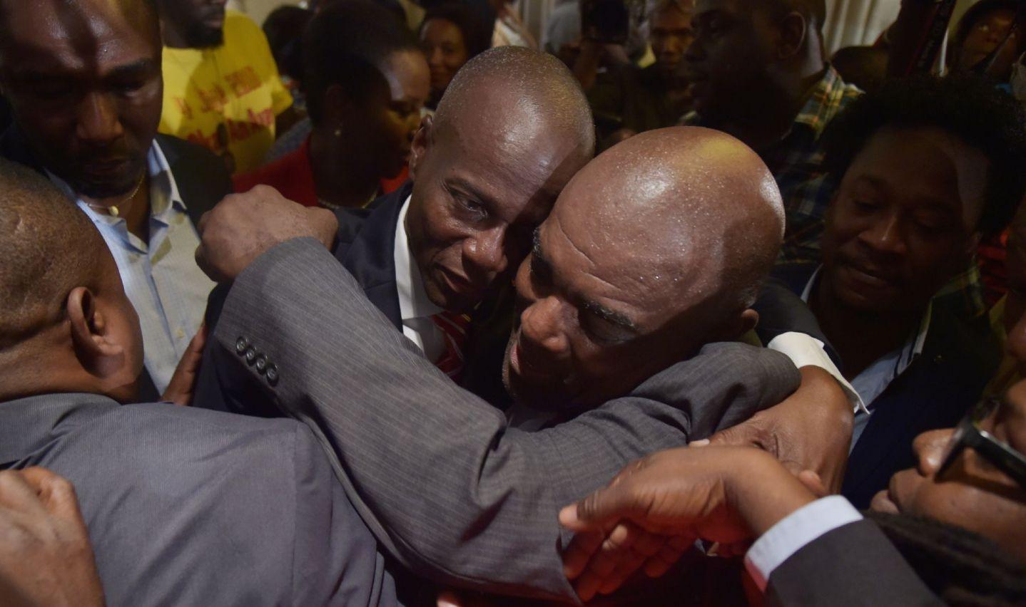 Le président Jovenel Moïse est en deuil