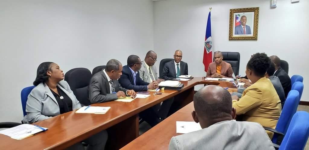 Covid-19 Haïti: Audain Fils BERNADEL sensibilise les maires des zones frontalières