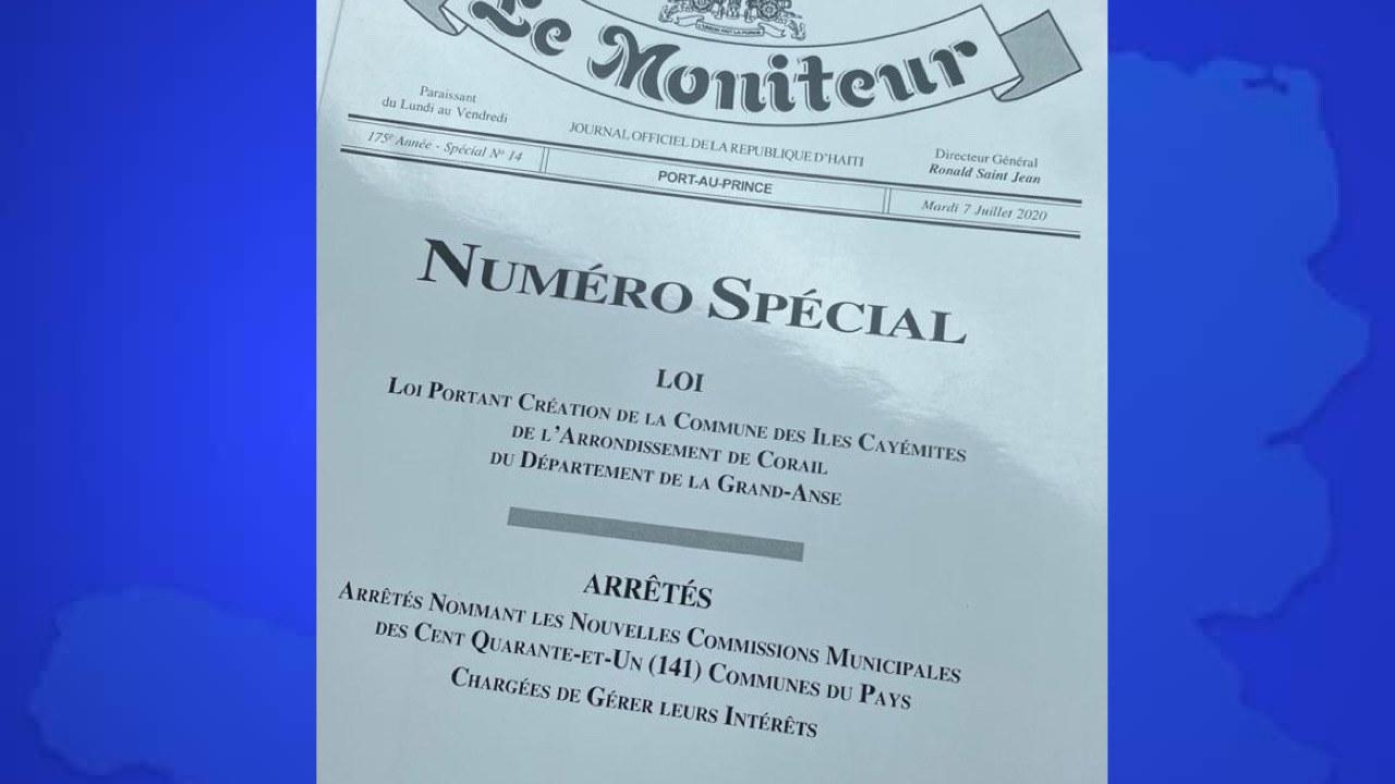 Jovenel Moïse prend le contrôle exclusif de 141 communes du pays