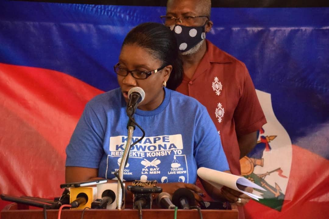 Haïti-Covid19: le secteur démocratique a remis des kits à des brigadiers communautaires