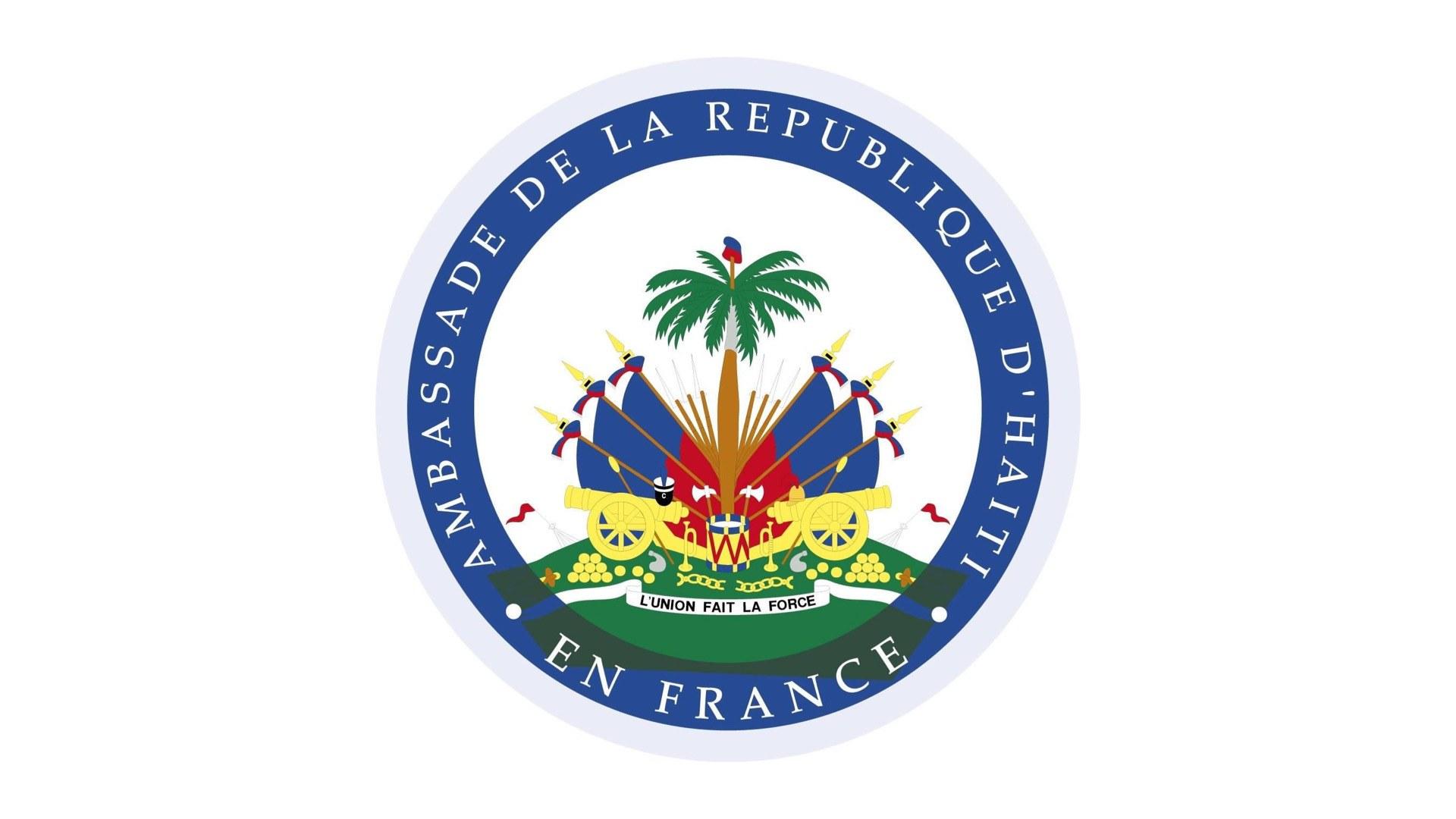 L'ambassade d'Haïti en France salue la victoire de Abi