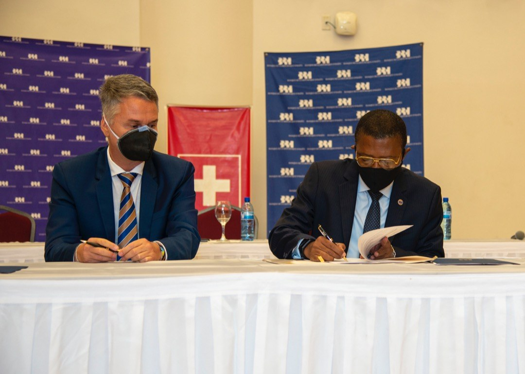 Signature d'un avenant entre la BRH et la Suisse pour appuyer financièrement les jeunes entrepreneurs