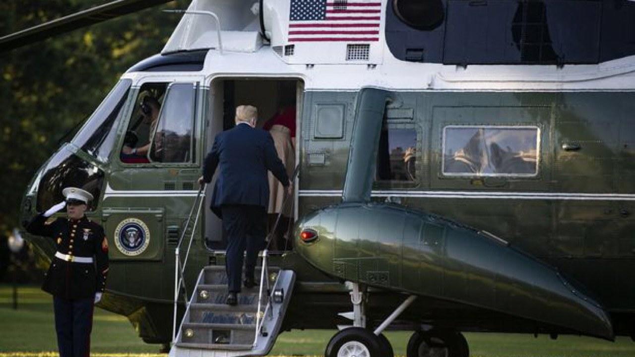 Covid-19 : Trump transporté à l'hôpital, Joe Biden testé Négatif