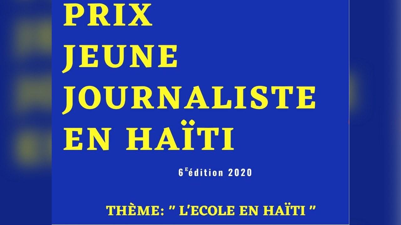 """Lancement de la 6e édition du """" Prix du jeune journaliste en Haïti"""""""