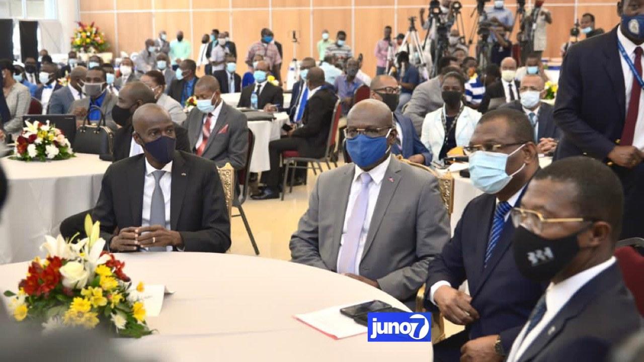 Bonne gouvernance : Jovenel Moïse appelle les Directeurs Généraux à développer le sens de l'éthique