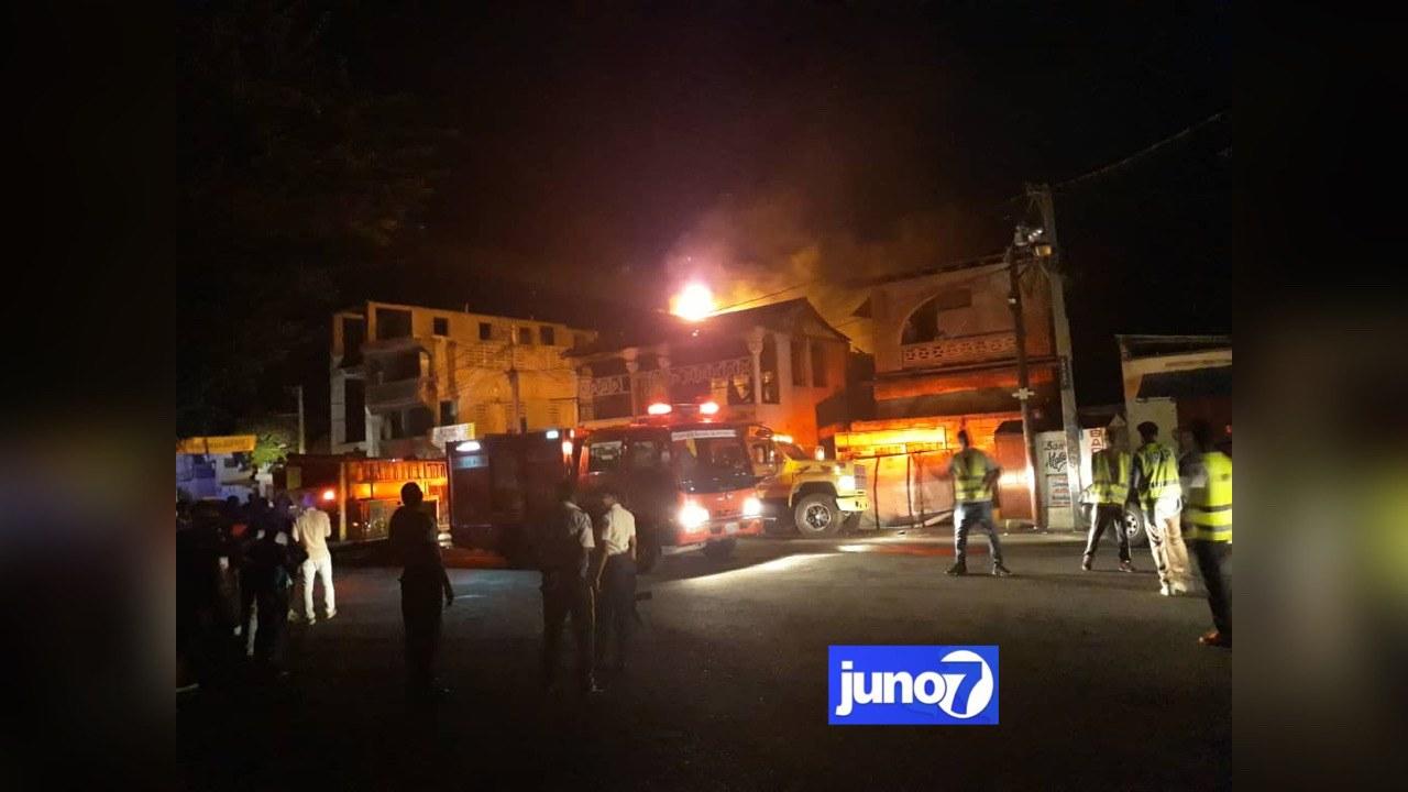 Le restaurant Evasion, appartenant à Berson Soljour, nouveau DCPA, en flamme