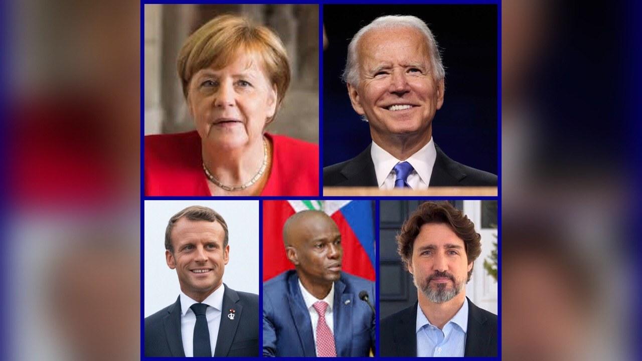 Des dirigeants du monde entier dont Jovenel Moïse saluent la victoire de Joe Biden