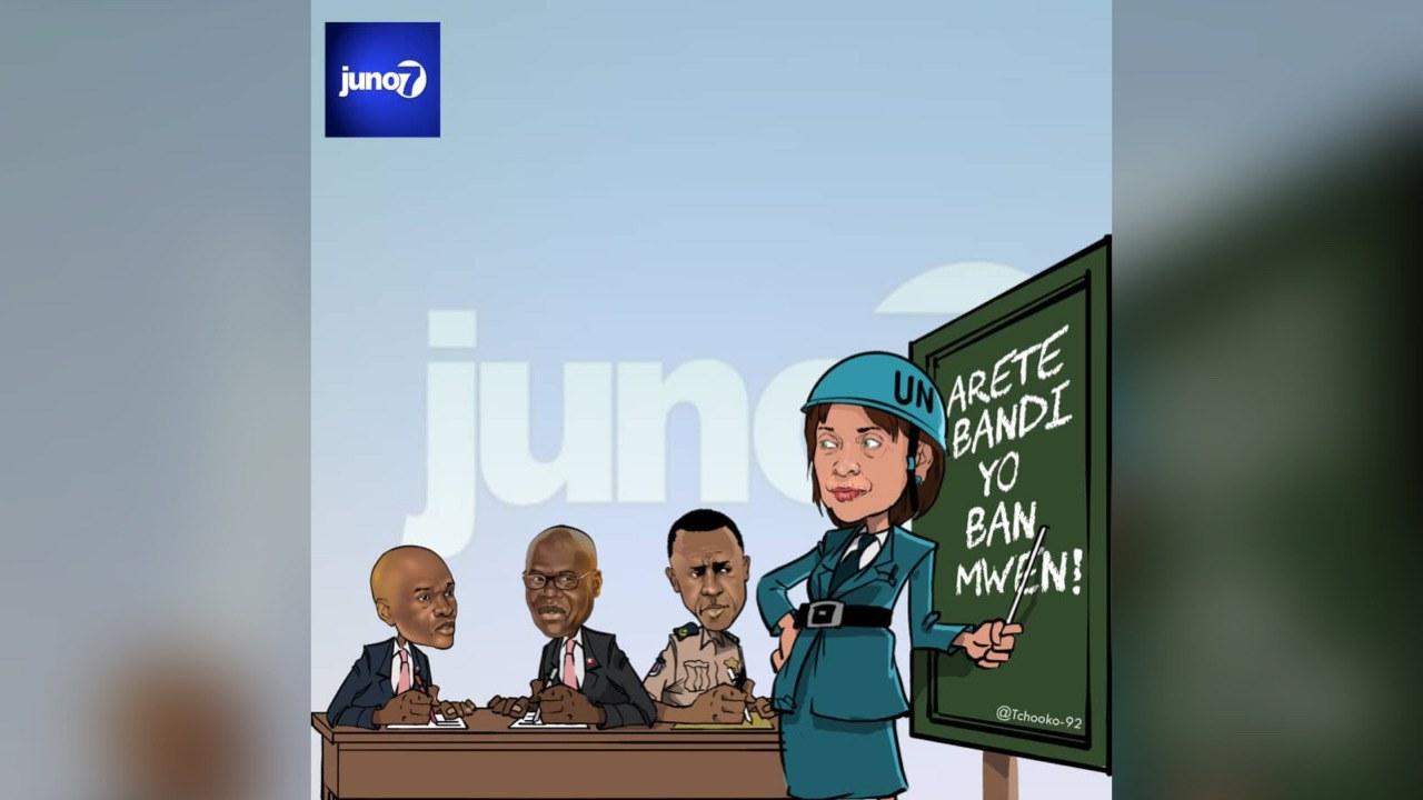 Haïti - Le BINUH exige l'arrestation de tous les chefs de gang dont Jimmy Chérizier
