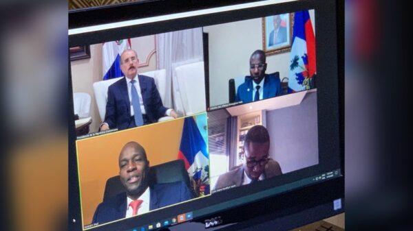 Jovenel Moïse s'entretient avec Danilo Medina autour de la Covid-19