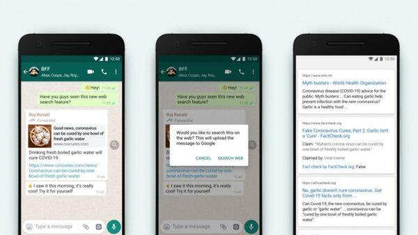 WhatsApp lance une nouvelle fonctionnalité pour combattre les FakeNews