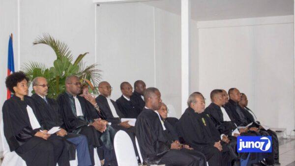 Le Barreau de Port-au-Prince se dissocie de tous les hommages au bâtonnier venant de l'exécutif