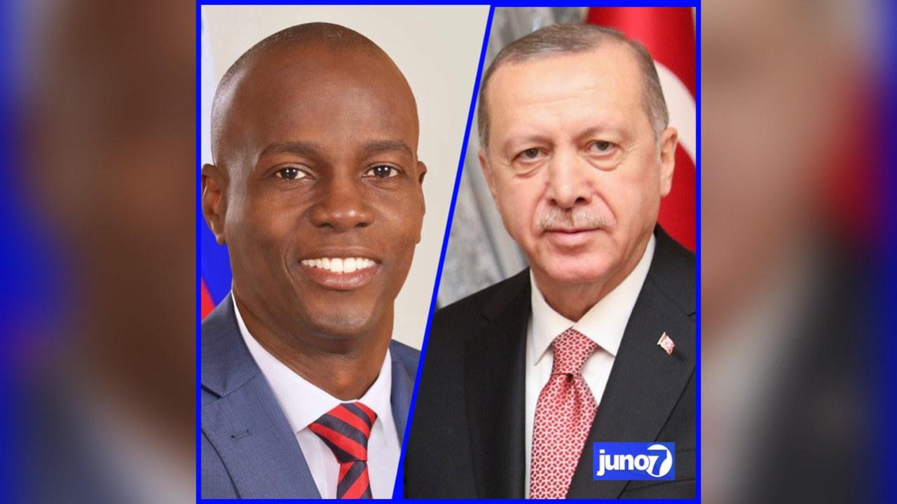 Jovenel Moïse et son homologue turc pour le renforcement des relations haïtiano-turques