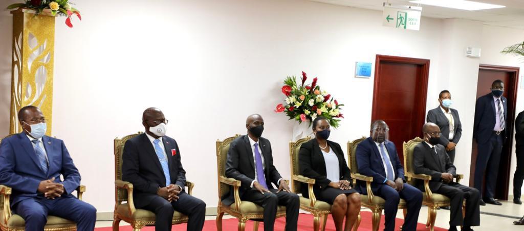 Inauguration du nouveau local de la Cour Supérieure des Comptes et du Contentieux Administratif
