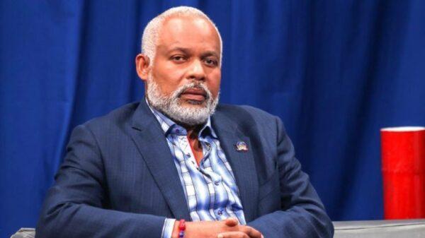Le secrétaire général du RDNP, Éric Jean-Baptiste